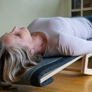 January 16, 2020 - Thursday 7-7:45pm - Guided Meditation and Sound Bath with Resting Inversion - with Aimée Jacobson