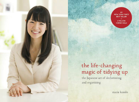 March 29, 2019 - Friday 7-9pm - Marie Kondo Tidying Up Book Group & Discussion on PART 5 - with East West Staff