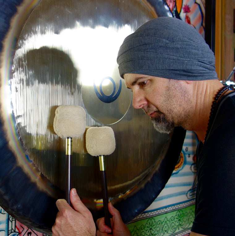 September 27, 2017 - Wednesday 7-8:30pm - Gong Bath Meditation - with Wayne Marto