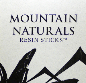 Mountain Naturals Resin Incense