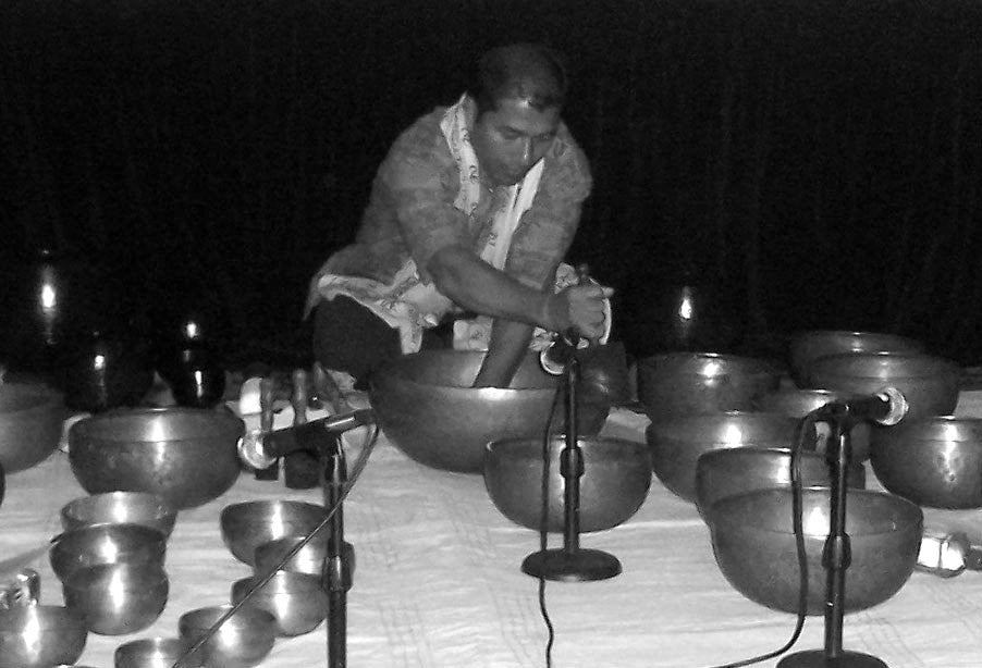 East West Bookshop - Group Sound Healing Session with Tibetan Seven Metal Singing Bowls with Suren Shrestha