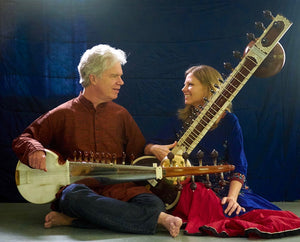 April 05, 2020 - Sunday 5:30-7pm - An Evening of Classical Raga with Sarod, Sitar, & Tabla - with Bruce Hamm Joanna Mack and Anil Prasad