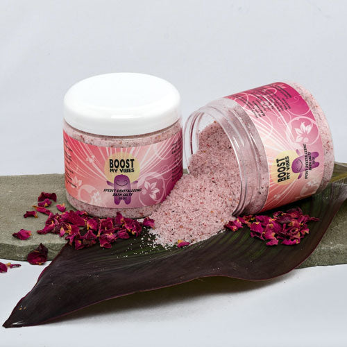 Boost My Vibes Uplifting Bath Salt 20oz - Dewey Meyer