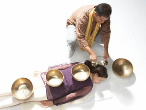 October 26, 2018 - Friday 7-8:30pm - Tibetan Singing Bowl Group Healing at Ananda Meditation Temple - with Suren Shrestha