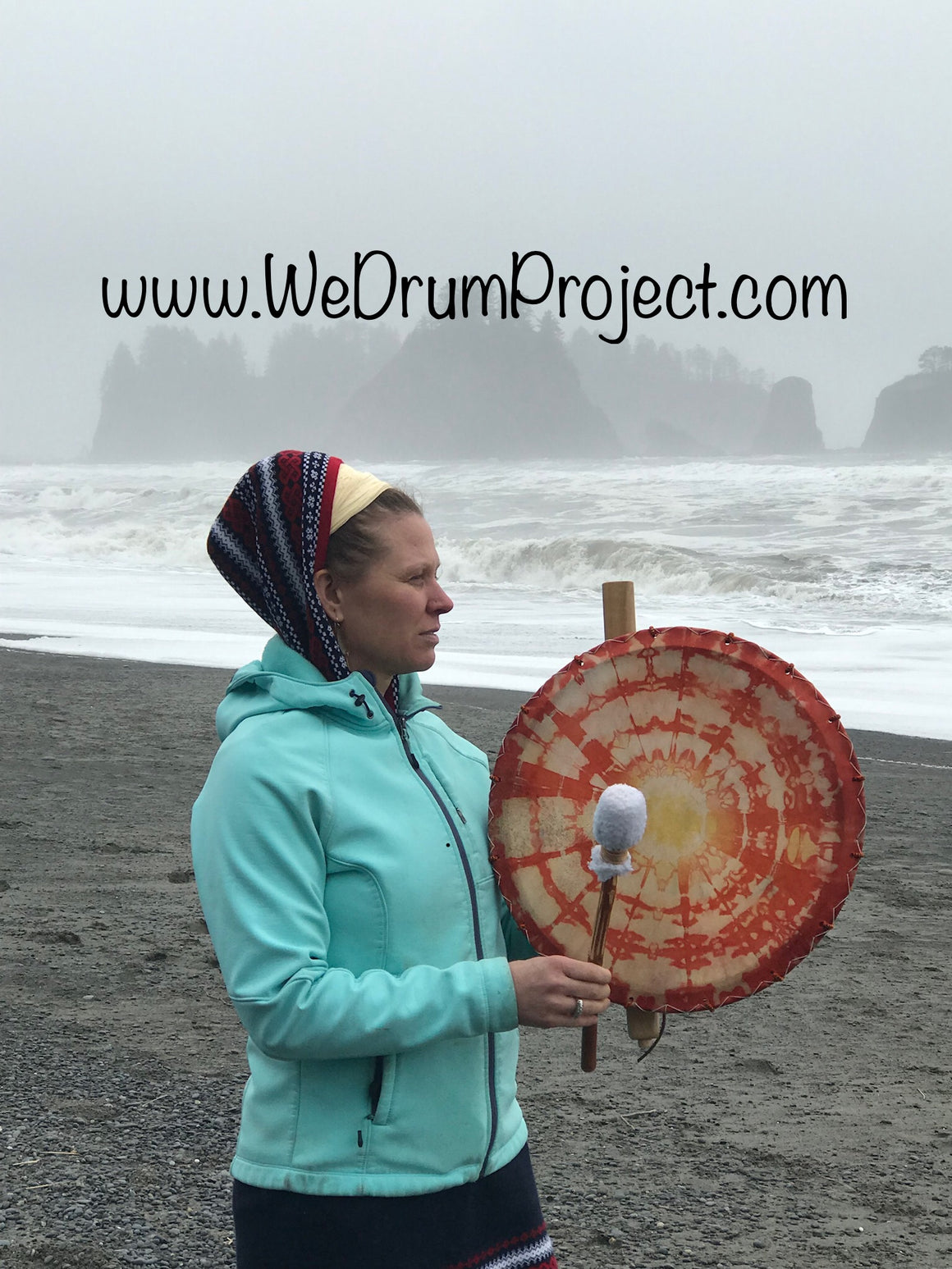 February 16, 2020 - Sunday 12:30-2pm - Healing Drum Circle - with Ila Barlean & We Drum Project