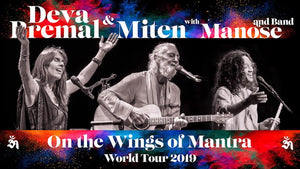 May 21, 2019 - Tuesday 7:30pm - Deva Premal & Miten with Manose: On The Wings of Mantra World Tour - with Deva Premal & Miten