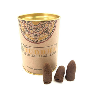 Backflow Incense Cones - Buddha