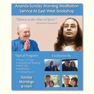 December 08, 2019 - Sunday 9-10am - Ananda Meditation and Service
