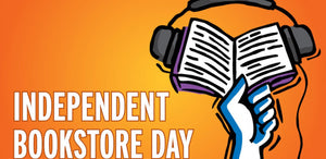 April 25, 2020 - Saturday 10-9pm - Indie Bookstore Day - with East West