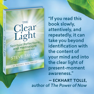 December 12, 2020 - Saturday 11-12:30pm PST - The Clear Light - with Steve Taylor - Webinar