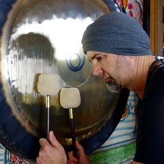 May 04, 2017 - Thursday 7-8:30pm - Gong Bath Meditation - with Wayne Marto