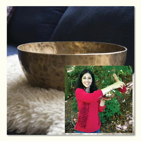 June 05, 2019 - Wednesday 7:30-8:30pm - Sound Bath for the Soul - with Maria Ayanna