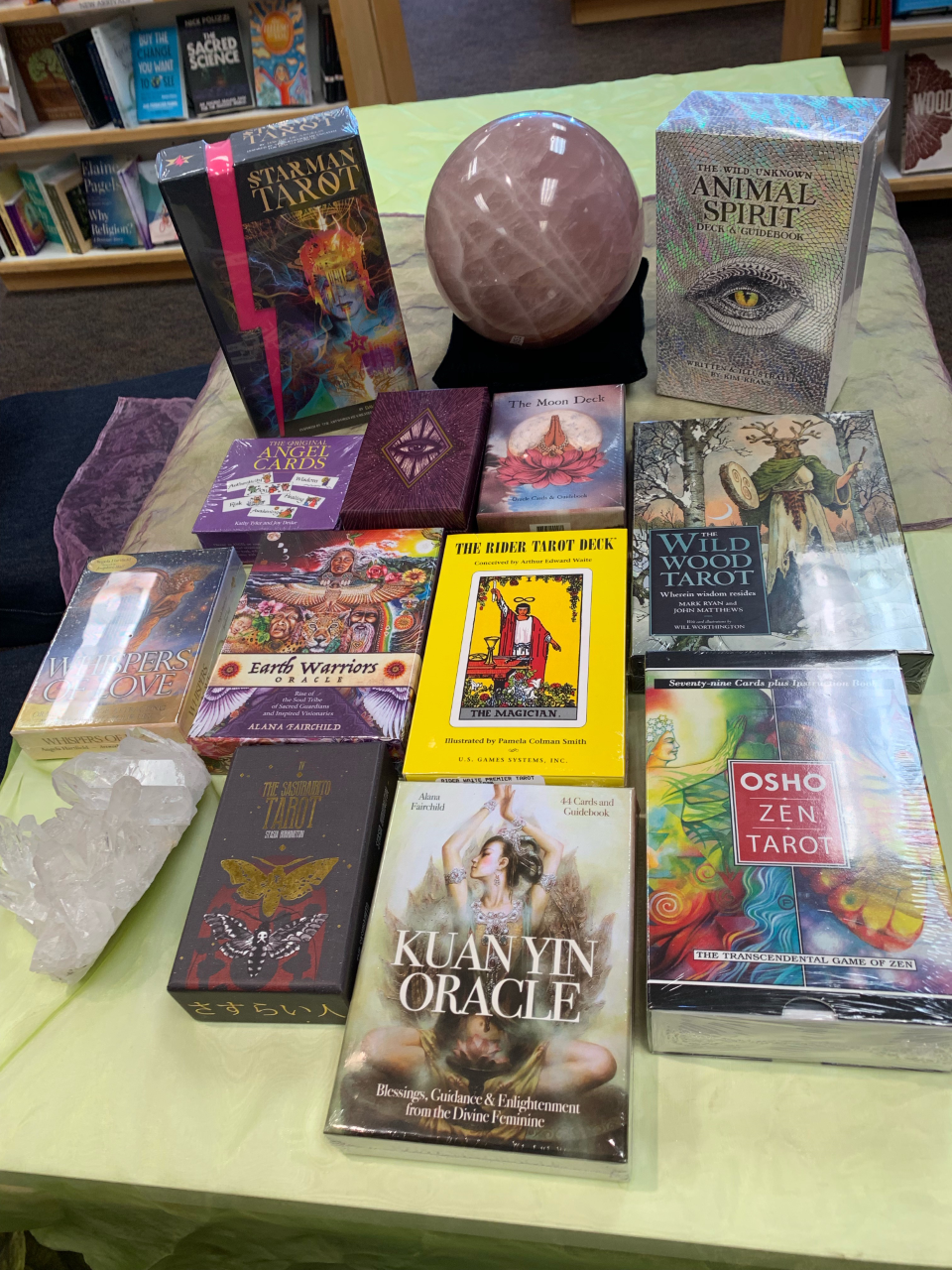 Tarot and Oracle Cards - East West Bookshop