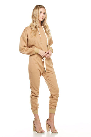 Antelope Jersey sweat suit set - Mixed Emotions Boutique