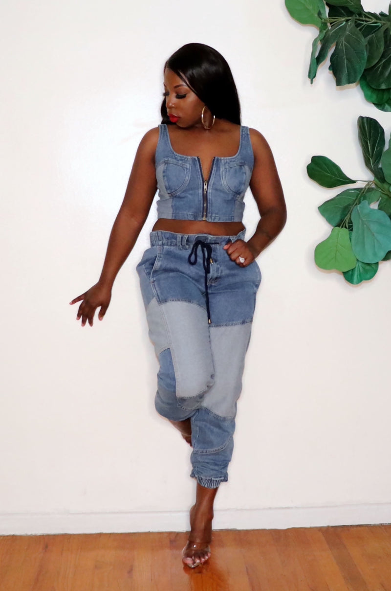 Denim on Denim  | Denim Set