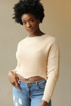 Knit Crop Top - Mixed Emotions Boutique