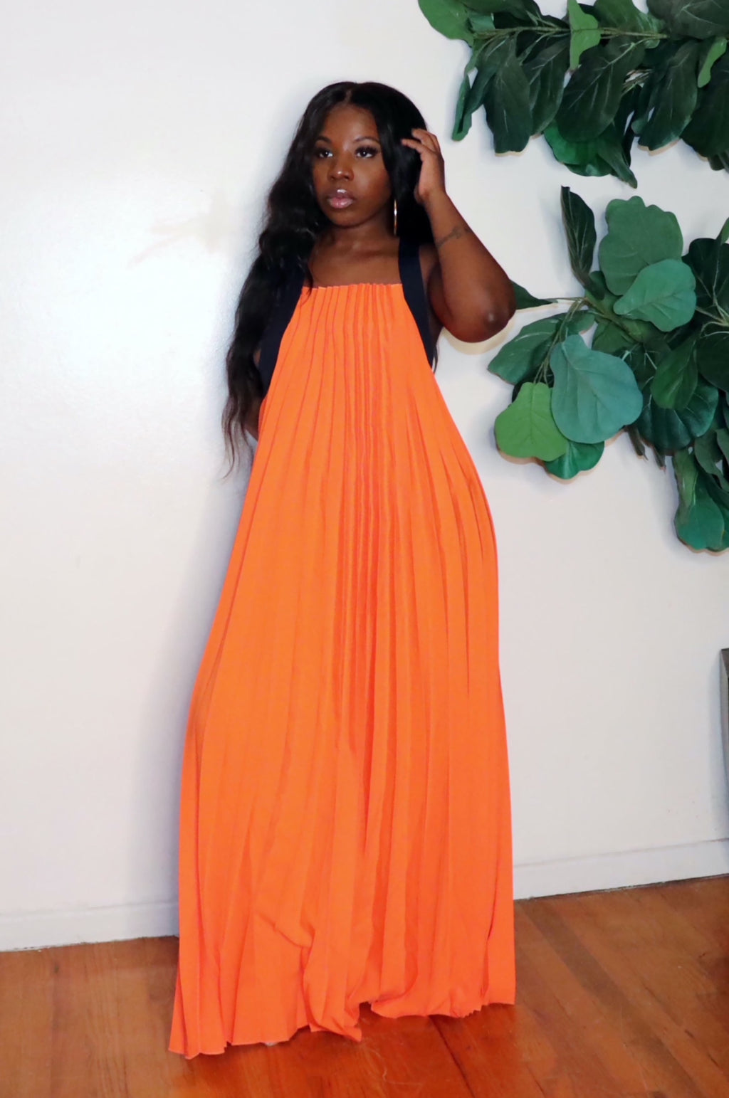 Maxed Out | Pleated Maxi
