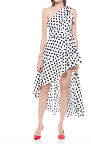 Wrap me in Polka Dots Maxi Dress - Mixed Emotions Boutique