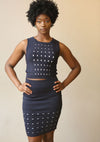 Blues Blue Dotted Set - Mixed Emotions Boutique