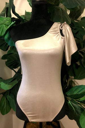 Cold Shoulder Bodysuit - Mixed Emotions Boutique