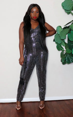 Dangerously in love |Sequins Jumpsuit
