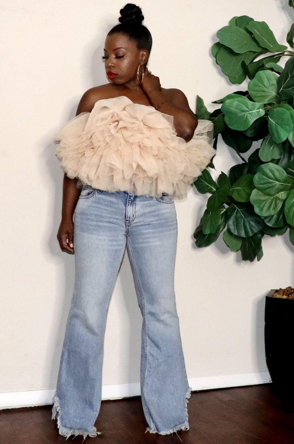 Puff Puff | Tulle Crop