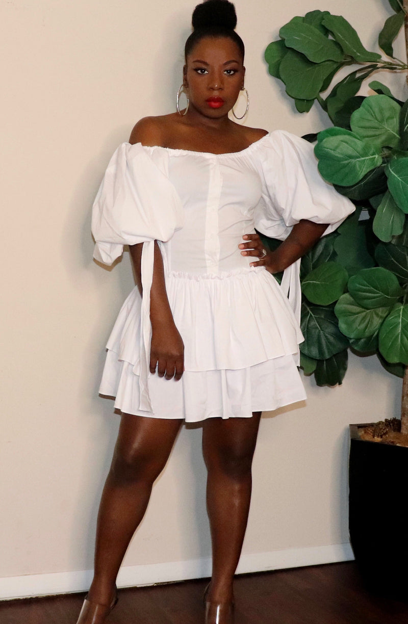 Puff Puff | Ruffle Dress