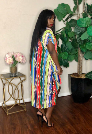 Chain of Colors | Pleated Dress