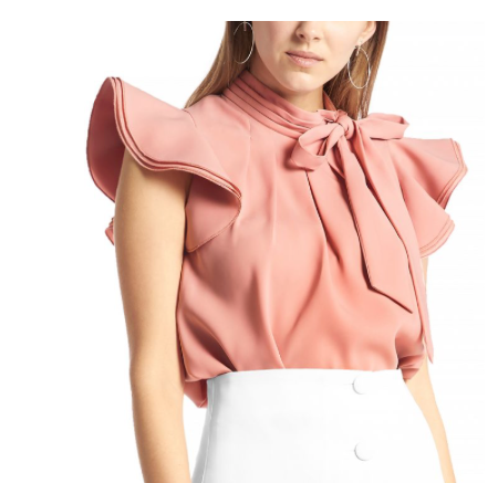 It's all Peachy | Bow Blouse