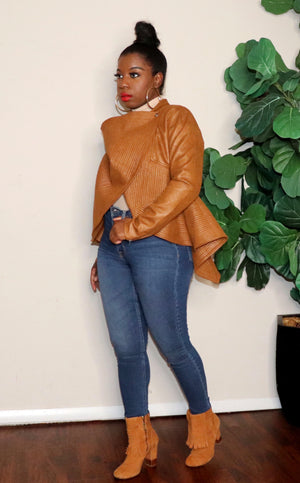 Bad Thing  | Peplum Jacket