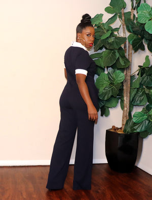 Miss | Jumpsuit (Navy)