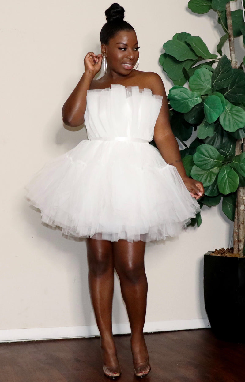 Angel | Halter Tulle Dress