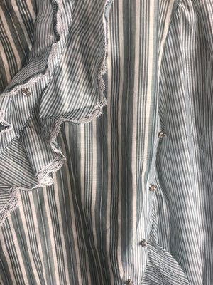 Stripes & Things | Blouse (Sage)