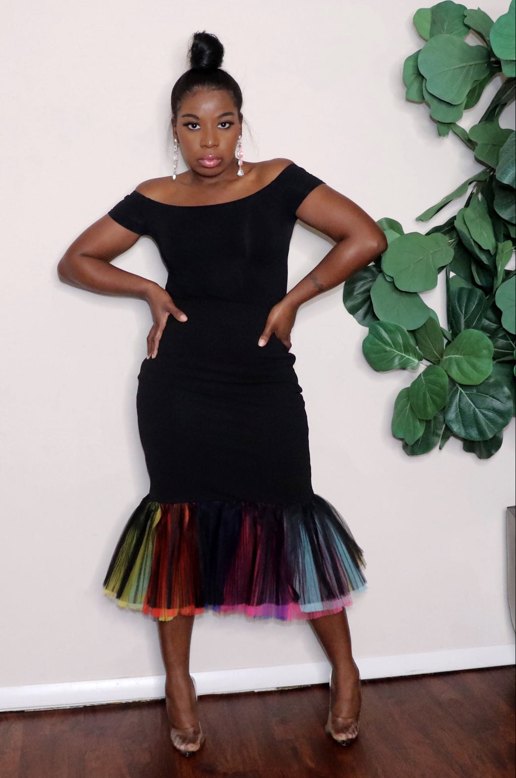 Black Burst | Mermaid Skirt(Pre-Order)