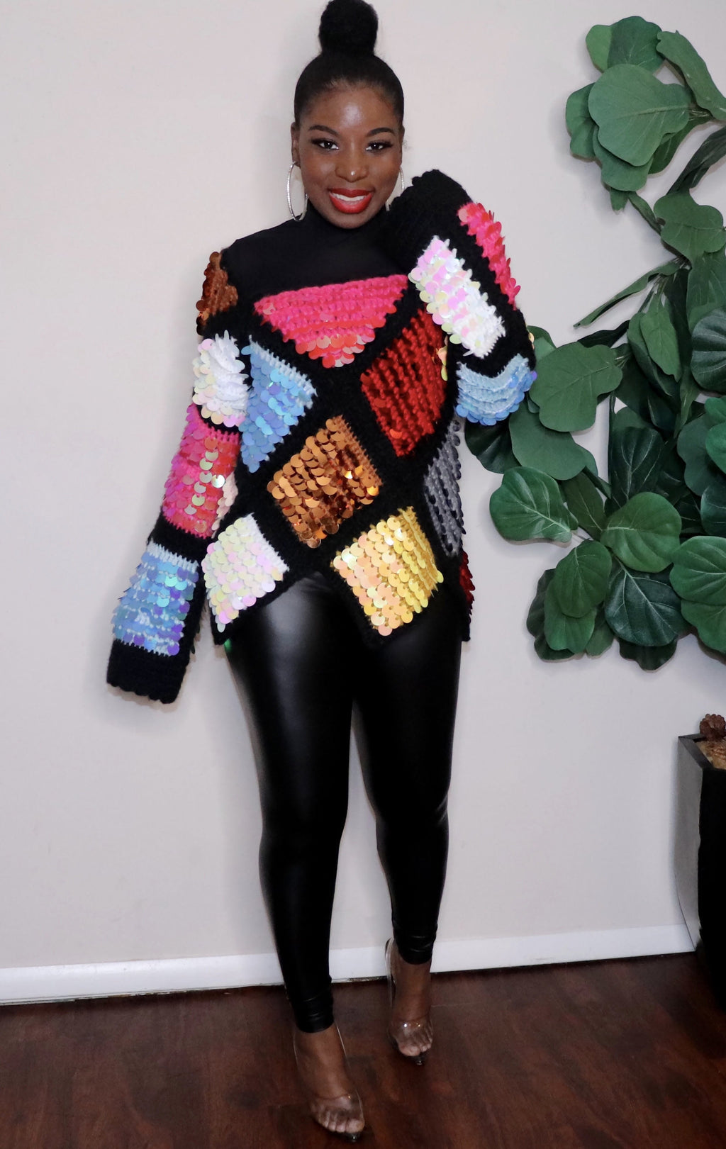 Over the Rainbow | Sequins Knit Sweater( PRE-ORDER 2/15) Limited !!