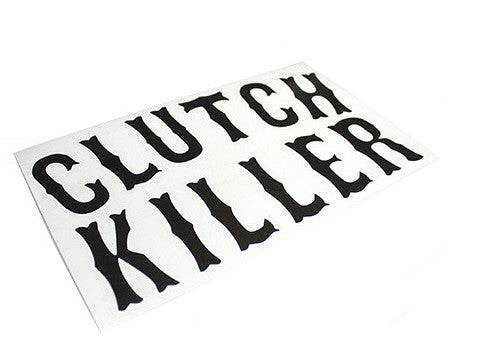 HARDCORE Clutch Killer Sticker