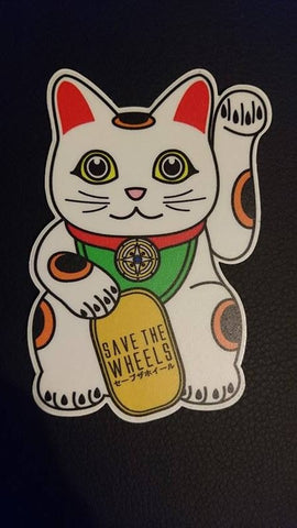 Save The Wheels Tomcat Sticker
