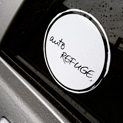 Auto Refuge Sticker