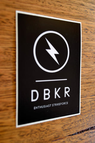 Dubkorps DBKR Strikeforce Sticker
