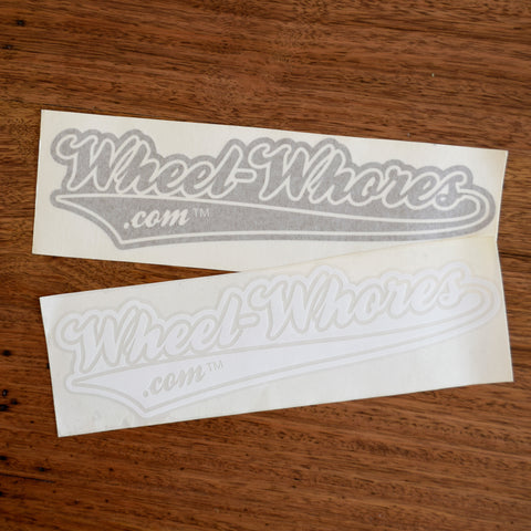 Wheel Whores.com Sticker