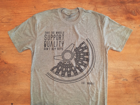 Save The Wheels Short Sleeve Tee
