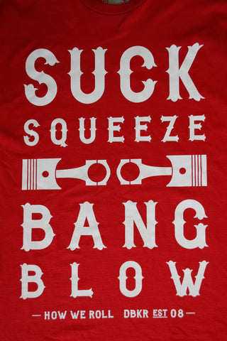 Dubkorps Suck Squeeze Bang Blow Short Sleeved Tee