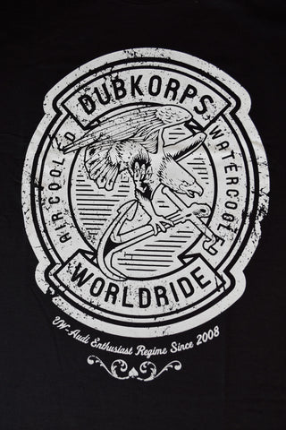 Dubkorps Worldwide Stamp Short Sleeved Tee