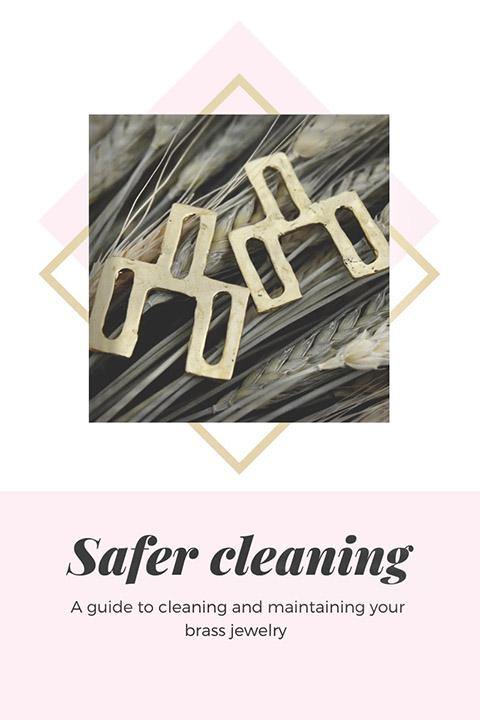 More Reasons to Love Brass Jewelry & Safer Practices for Cleaning it!