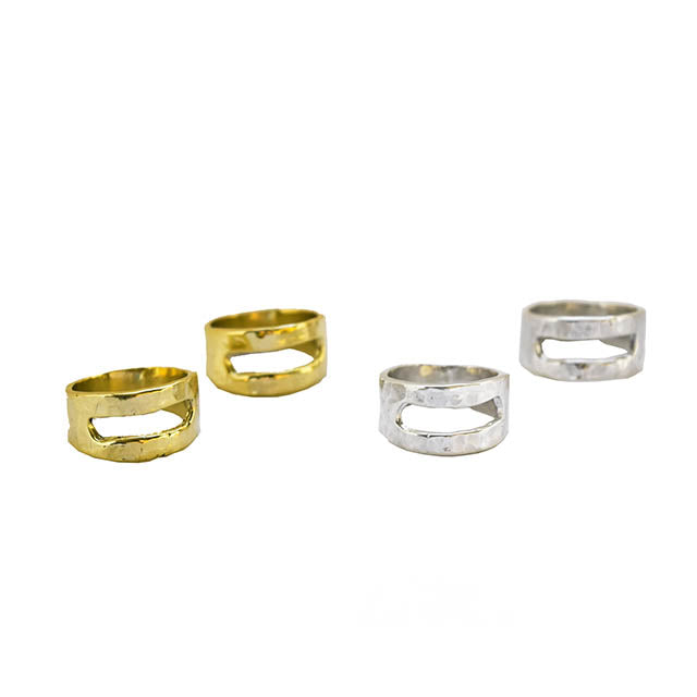 Open Rectangle Ring - Dante Perozzi Jewelry