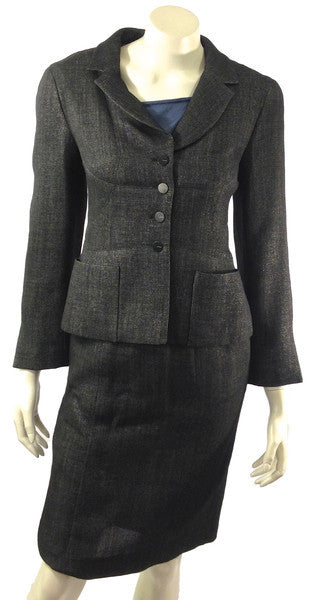 Chanel Two Piece Suit Size 4 (EU 36). Stylish! - Coco et Louis - 1