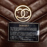 Chanel Brown Caviar WOC Crossbody Bag. Chic! Coco et Louis