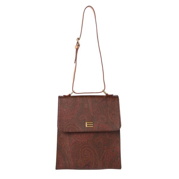 Erto Bordeaux Paisley Shoulder Bag. Lovely! - Coco et Louis - 1