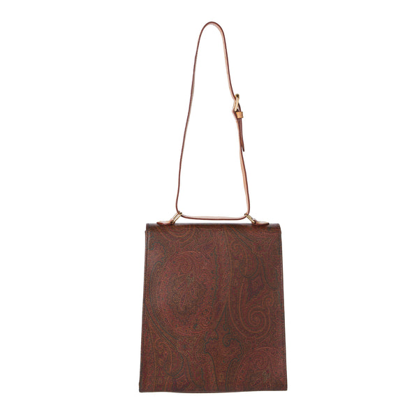 Erto Bordeaux Paisley Shoulder Bag. Lovely! - Coco et Louis - 2