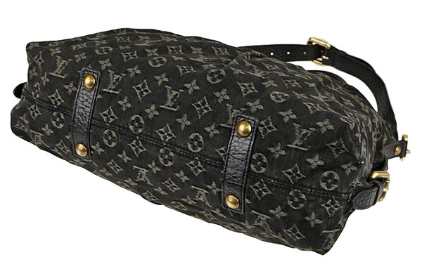 Sold -Louis Vuitton Black Denim Neo Cabby GM Bag. Like New! Coco et Louis